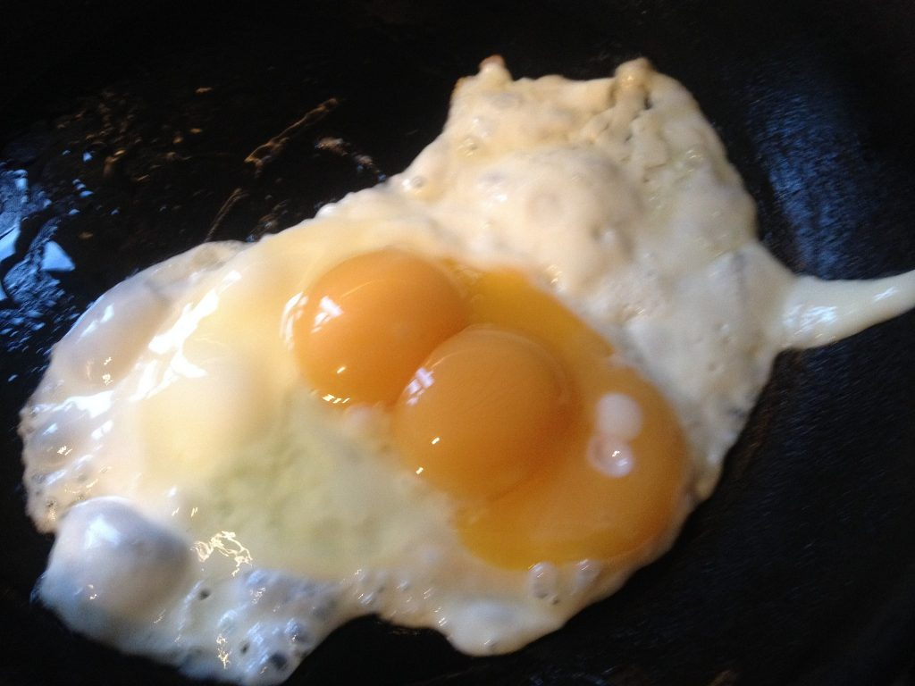 Triple Yolk Egg #3