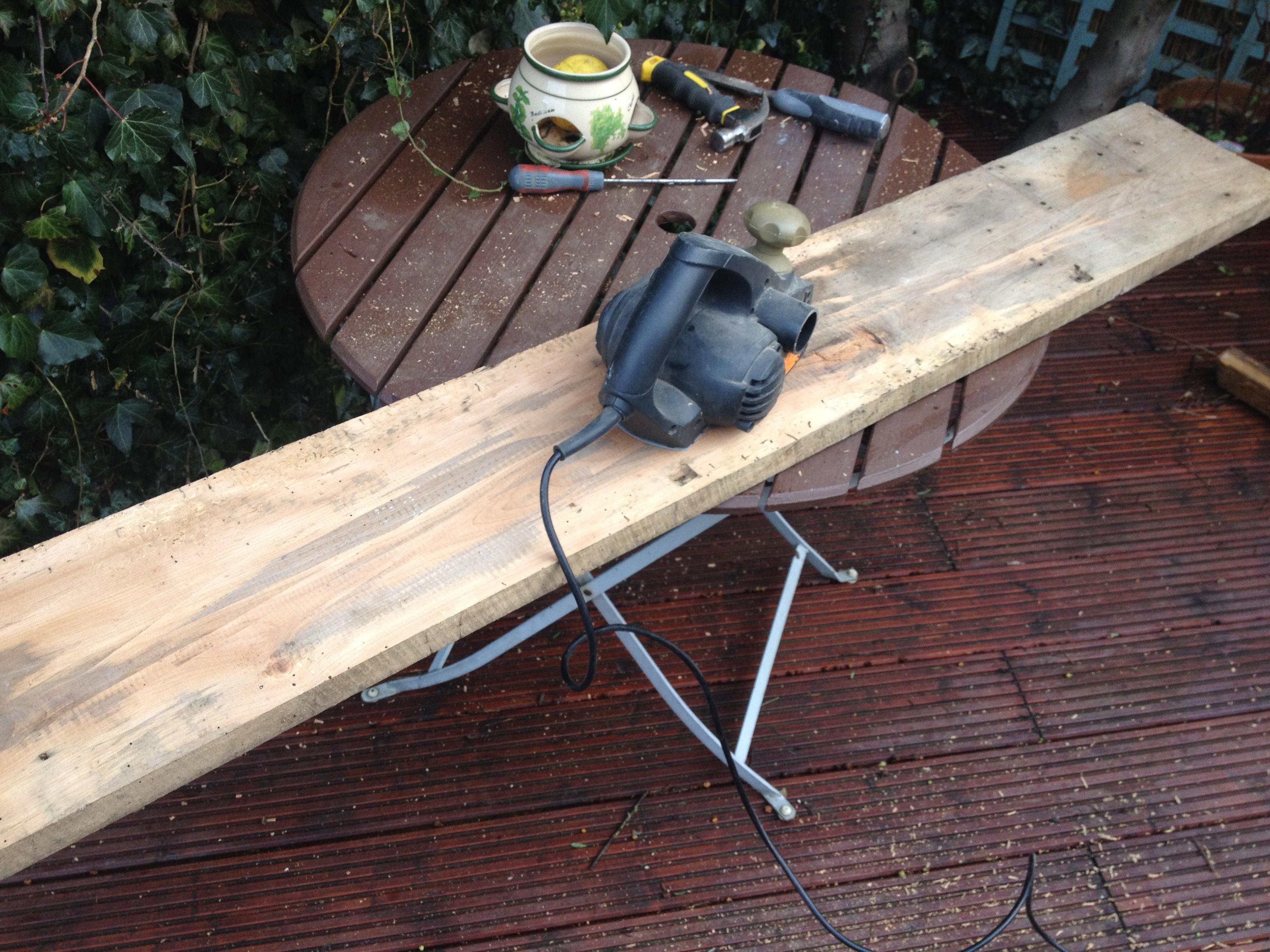 Scaffold Plank Shelving