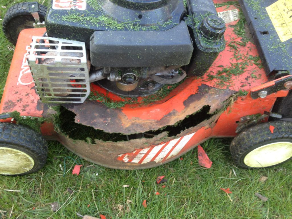 Rusty Lawnmover