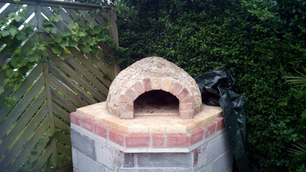 The pizza oven dome