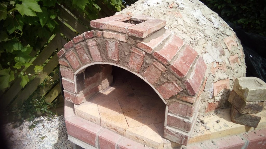 pizza oven outer arch 4