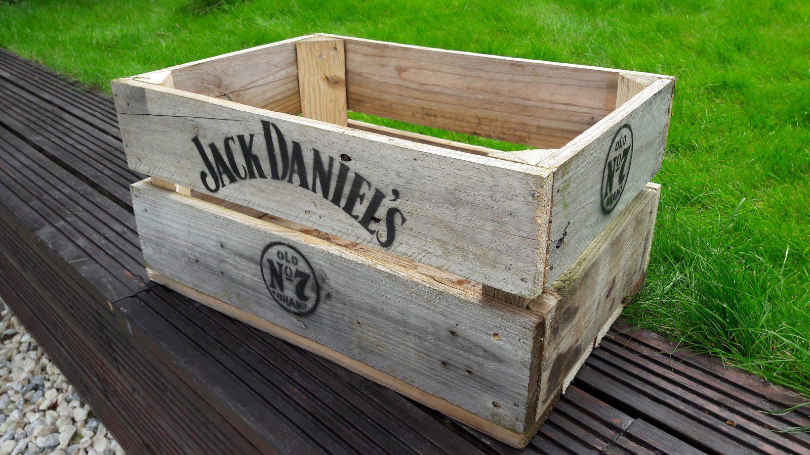 Homemade Wood Crates